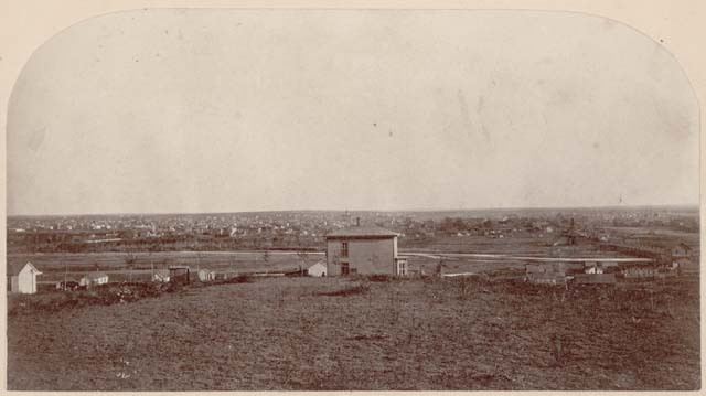 1879 View of Denver from Highlands