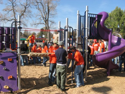 2009 Chaffee Park Kaboom Build